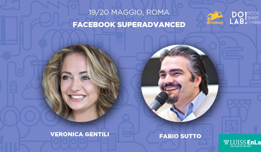 Corso Facebook SuperAdvanced Roma