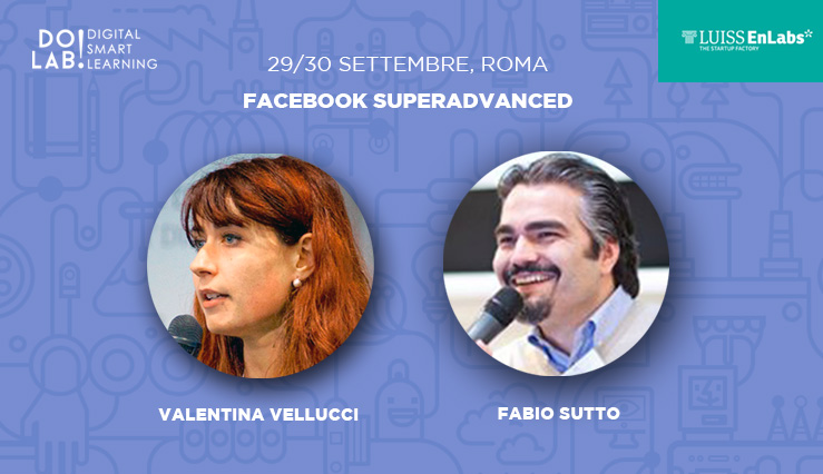 Corso Facebook SuperAdvanced Roma